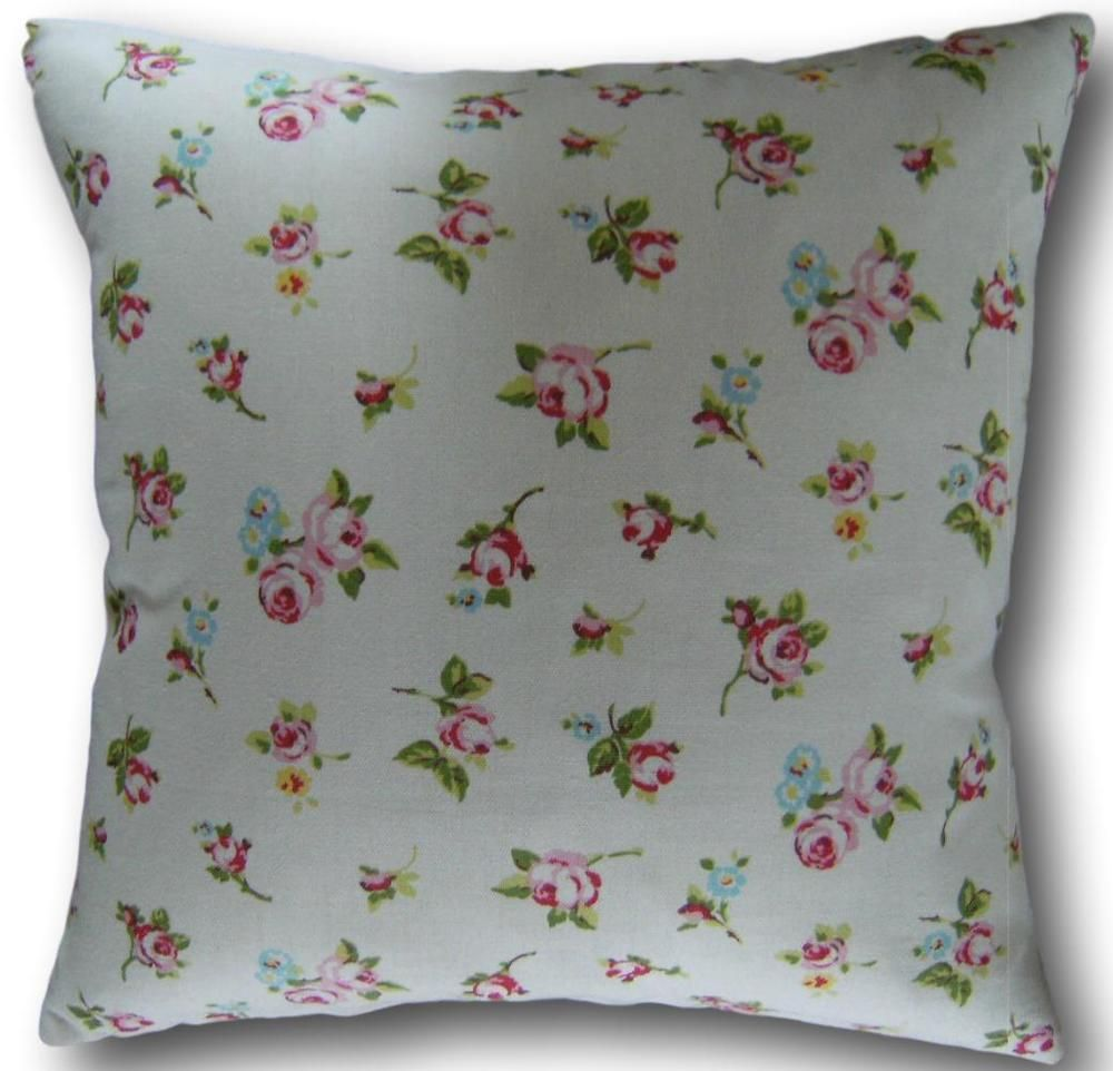 Details about cushion covers made with clarke and clarke rosebud