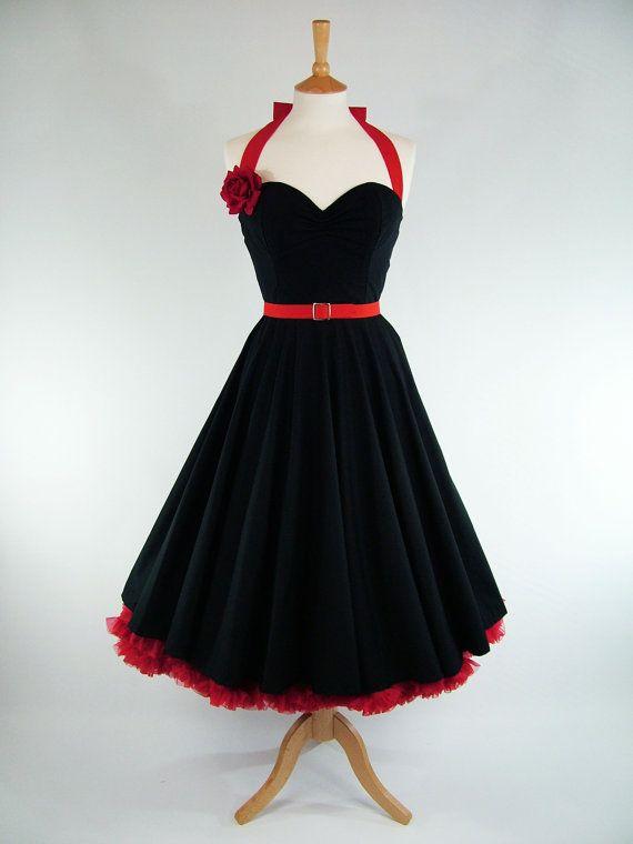 Red Cotton Wedding Dresses