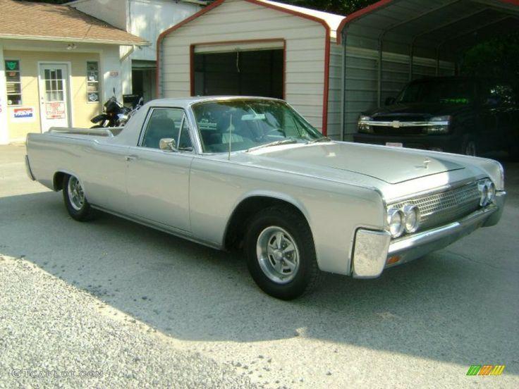 1962 Lincoln Custom Built Pick Up Lincoln The Car Pinterest