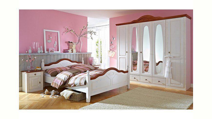 Schlafzimmer mit Bett 180 x 200 cm Sahara\/ Eiche Jetzt bestellen - schlafzimmer set kaufen