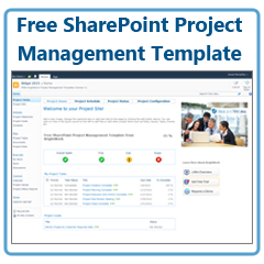 Free project management template for sharepoint project for Sharepoint knowledge management template