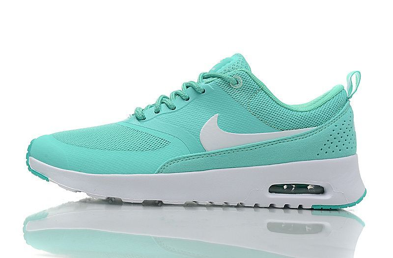 sale retailer 48bc7 877ed Prix D usine Nike Air Max Thea Neo Turquoise Blanc Femme