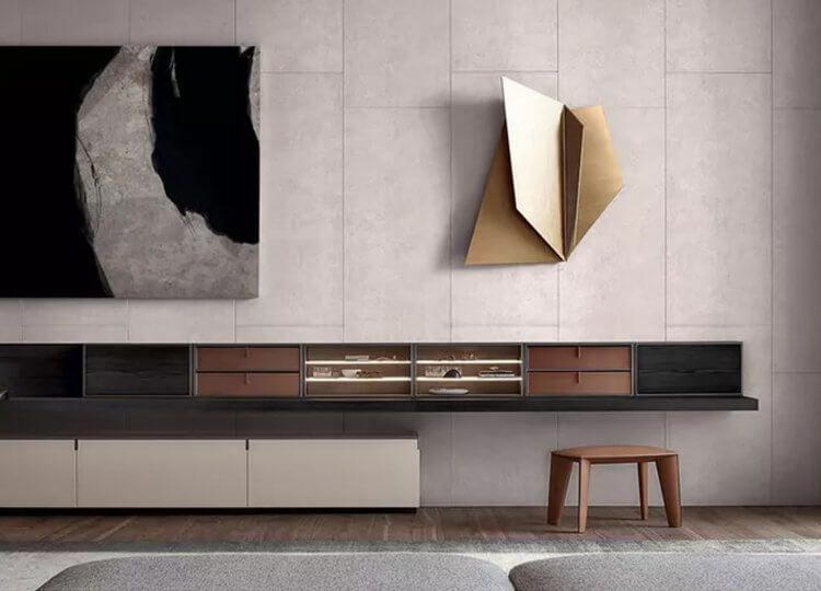 Quid Bookcase By Poliform Poliform Living Room Tv Interior