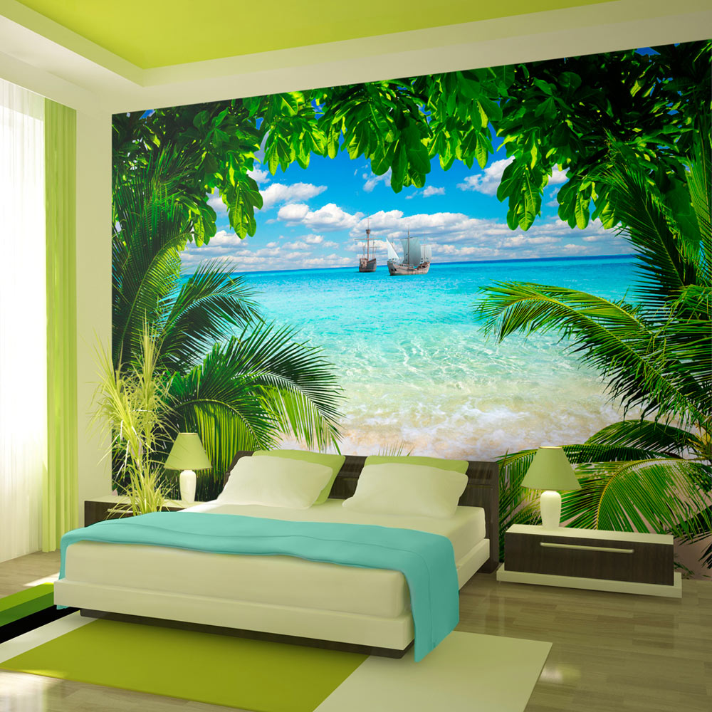 Wall Mural Phuket Province Original Wallpapers By Glix 3d Wallpaper Mural Beach Wall Murals Wall Murals Bedroom