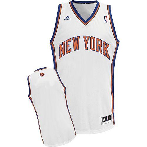 new york knicks blank white swingman jersey