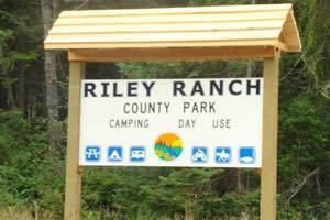 Riley Ranch  Coos County Park Lake, Dunes, restrooms, hookups,  milepost 227 Hwy 101  6 mi N. Of N.Bend  Hauser, OR