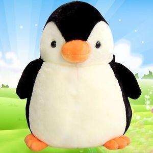 Penguin Plush Toy Cute Stuffed Animal Pillow Cushion Soft Doll Birthday Gift S