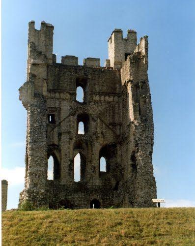 Helmsley castle,