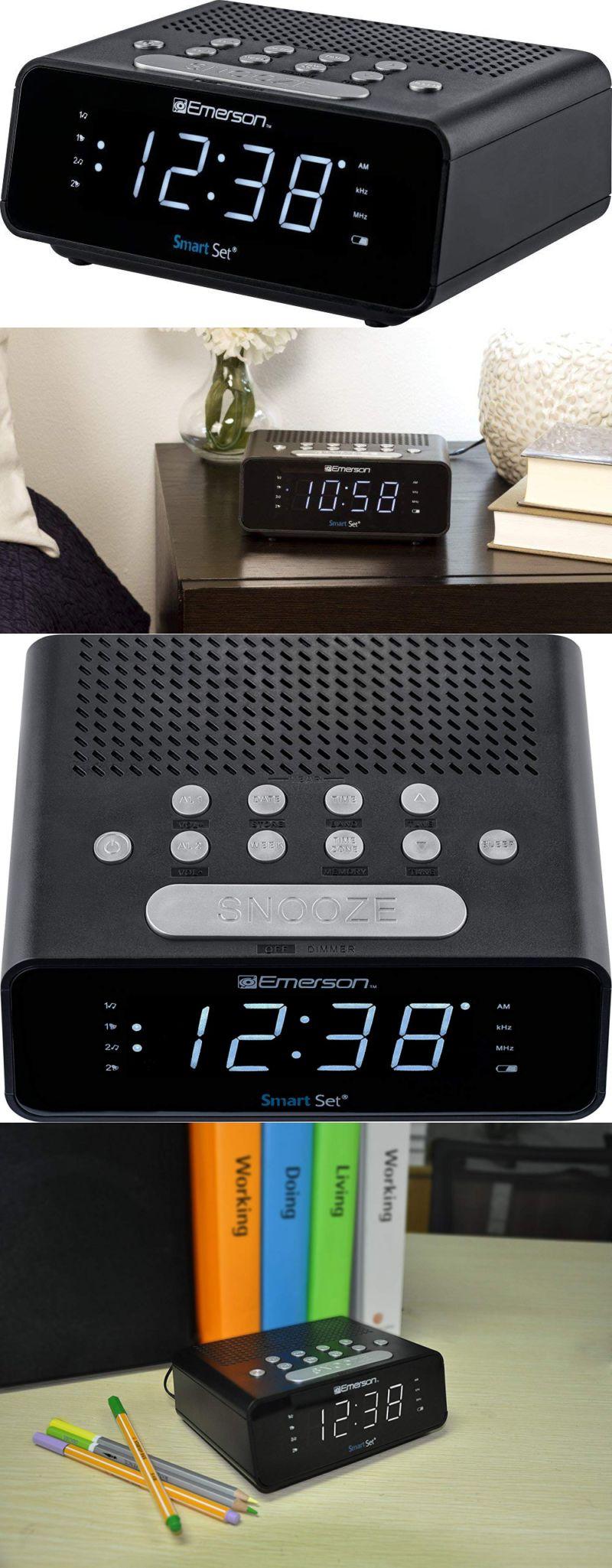 Itoma Bluetooth Clock Radio Fm Bedside Dual Alarm Dimmer Control Snooze Sleep Timer Usb Charging Aux Radio Alarm Clock Digital Clock Radio Digital Alarm Clock