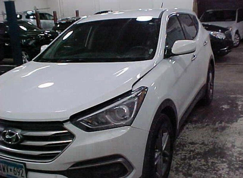 Salvage 2018 HYUNDAI SANTA FE for Sale in New York