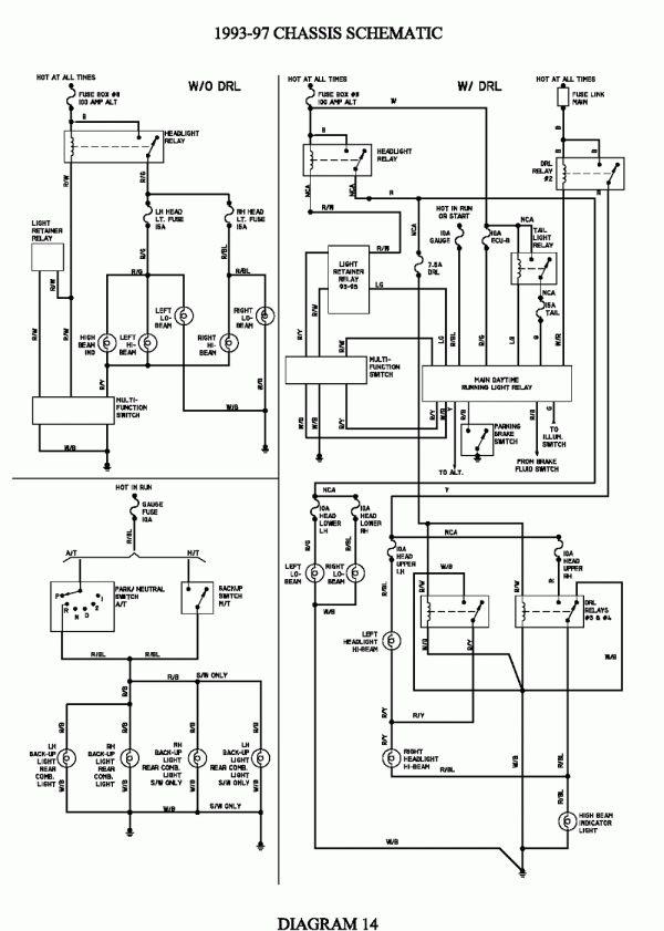 Electrical Wiring Diagram Toyota Avensis
