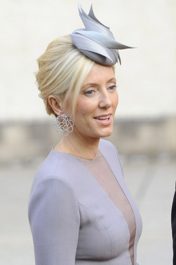 Los tocados de las invitadas a la boda real de Luxemburgo  bodas  tocados d388e184f3f