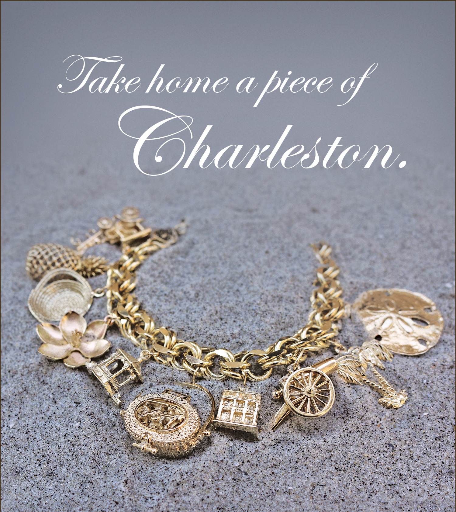 We Invite You To Come Our 14k Gold Charleston Charms Many Of Which Are