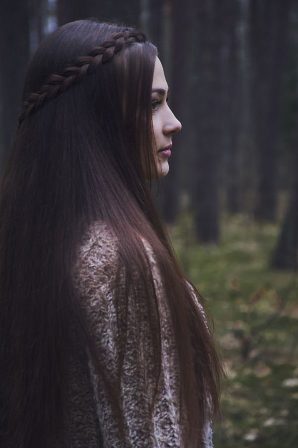 Dark Woods By Elixir Photography Photo Young Woman With