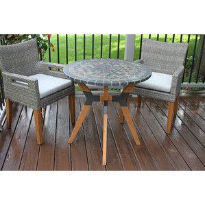 3 piece shelban eucalyptus patio bistro set apt living