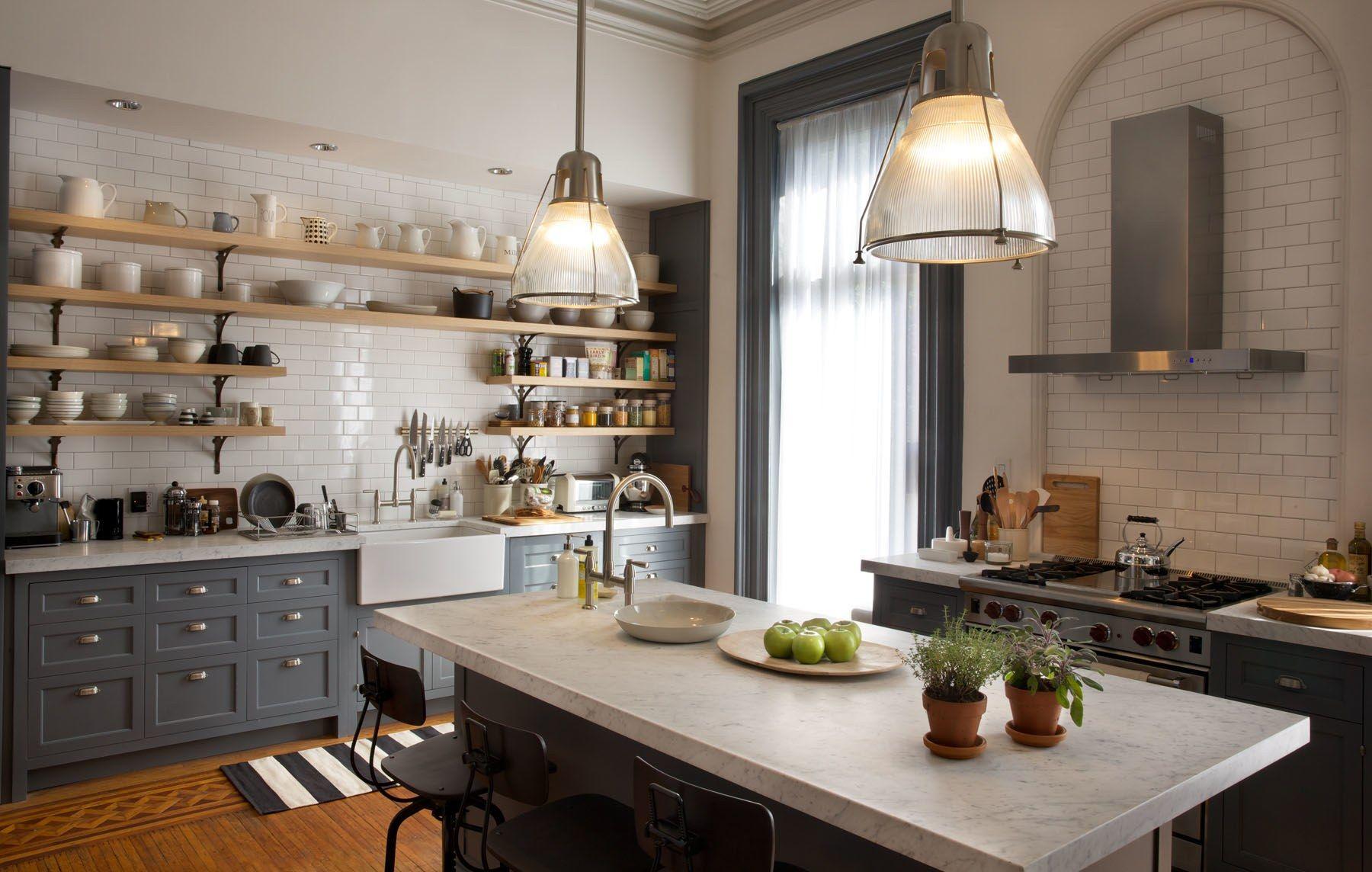 "Tour The Stylish Sets Of ""the Intern""  Set Design Architectural Captivating Brooklyn Kitchen Design Design Inspiration"