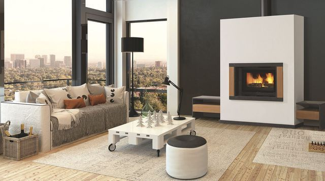 Quelle cheminée ou poêle à bois pour un salon moderne ? | Salons ...