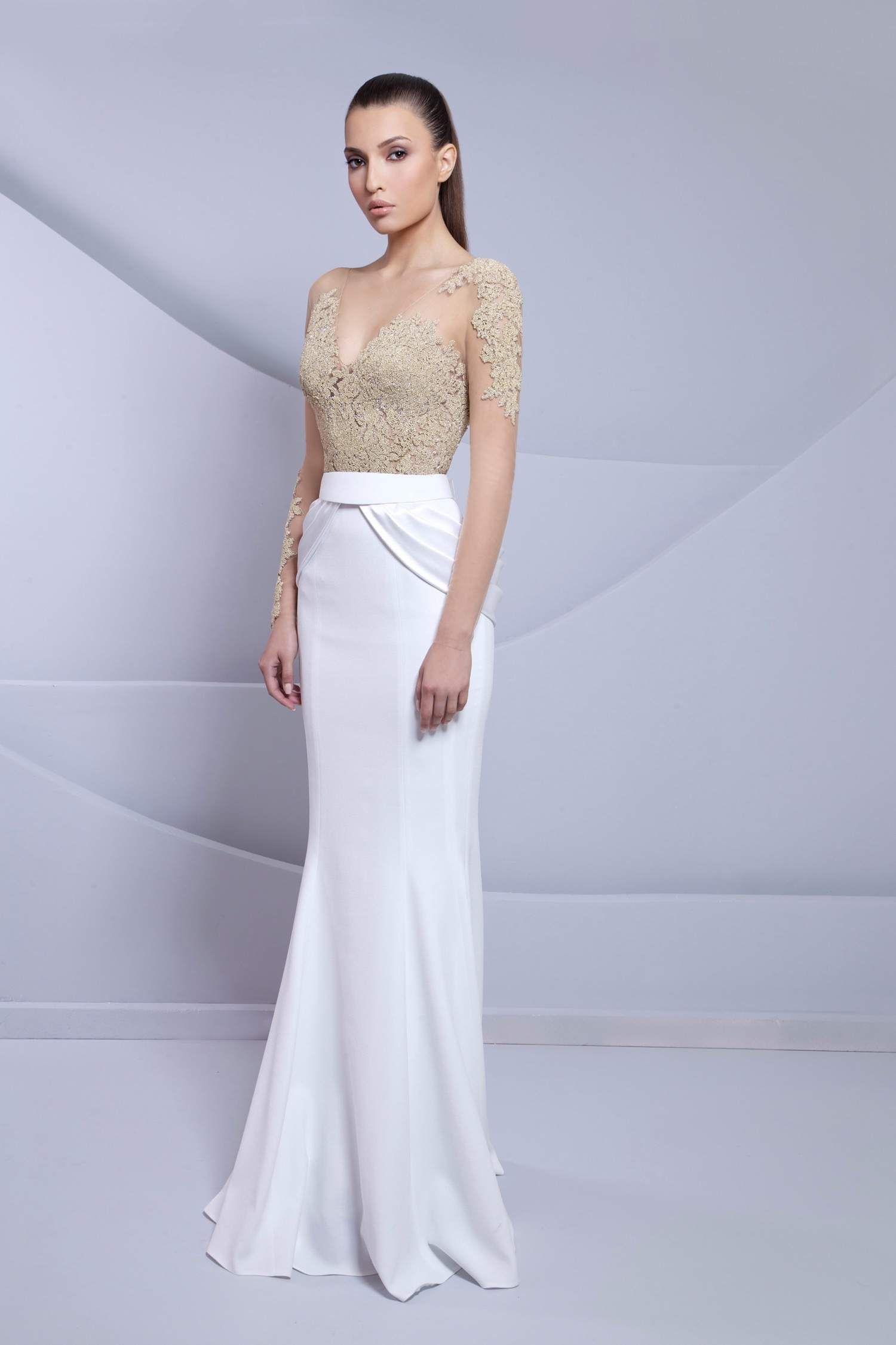 Tarek sinno springsummer evening dress long dress
