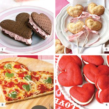 Heart Shaped recipes for Valentines day!