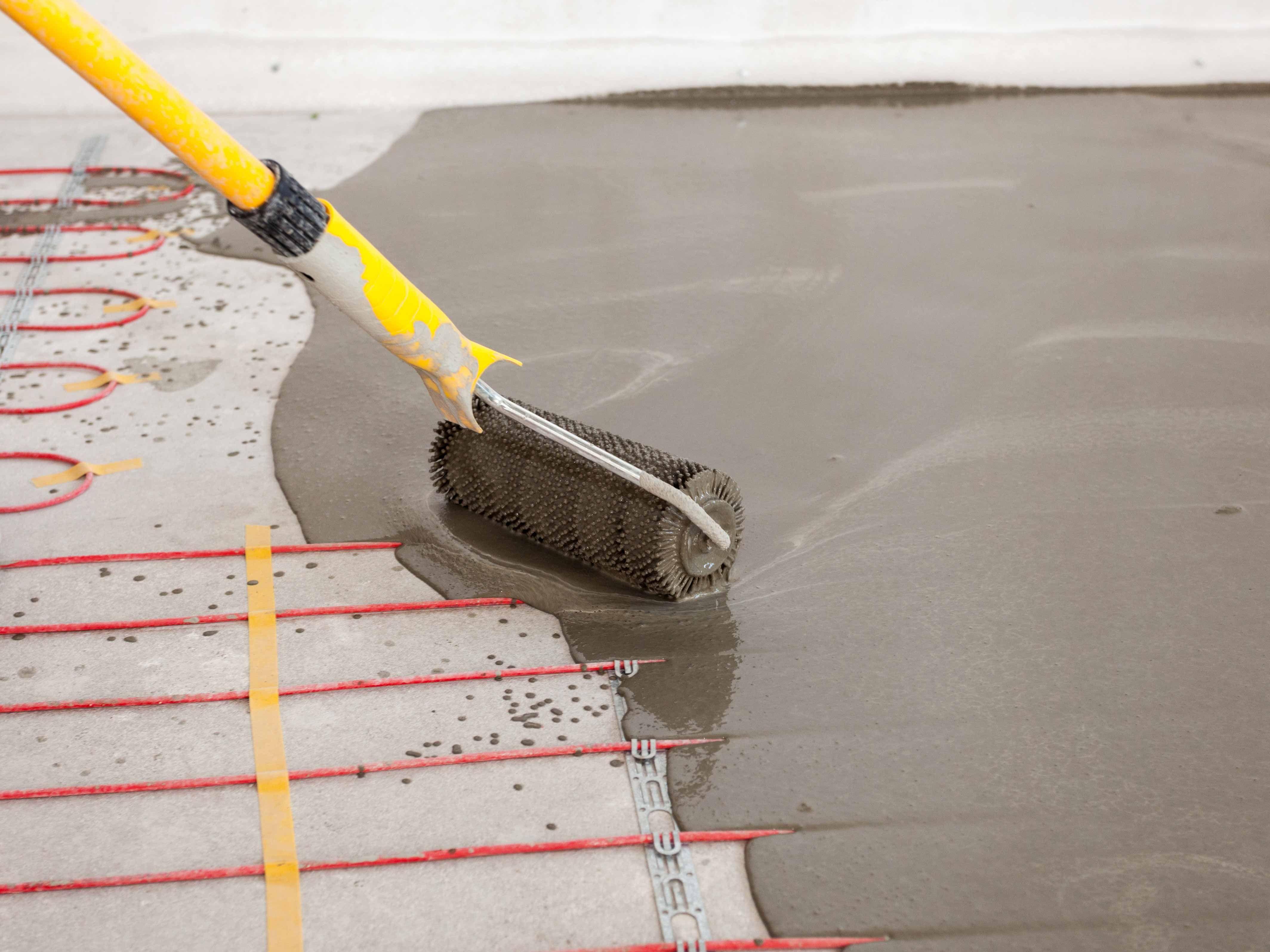 Fussbodenheizung Im Bad In 2020 Fussbodenheizung Fussboden Bodenheizung