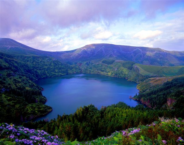 Flores on the Portuguese islands of the Azores