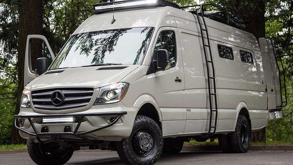 Bespoke Camping Van Brings Luxury To The Outdoors