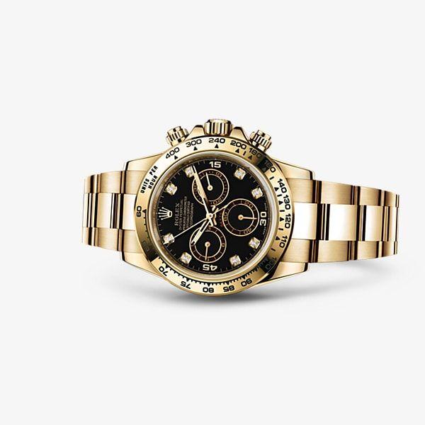 7052b0f3ea9 Descubra o relógio Cosmograph Daytona em Ouro amarelo 18 quilates no Site  Oficial Rolex. Modelo  116508
