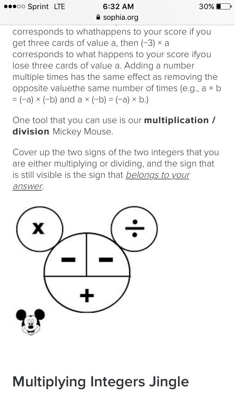 Https Www Sophia Org Tutorials Multiplying And Dividing Integers 72 Lessons 10 11 Dividing Integers Multiplying And Dividing Integers Integers Worksheet [ 1334 x 750 Pixel ]