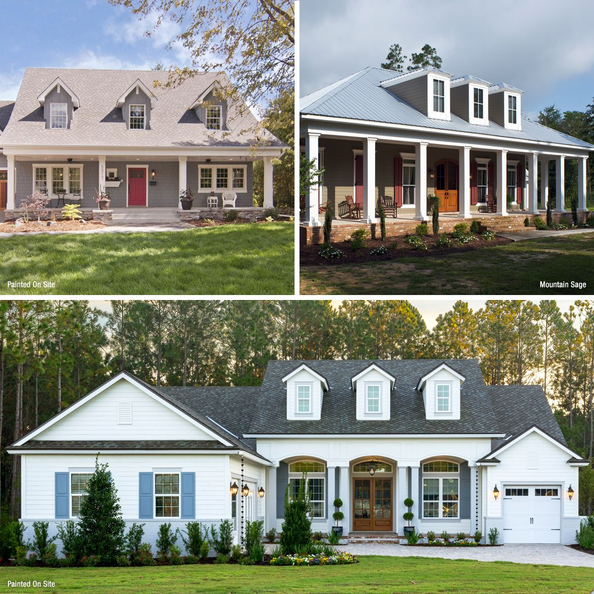 Home Exterior Options: Cape Cod House Color Ideas: Get Inspired With Siding
