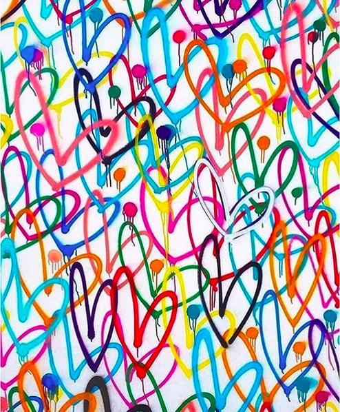 James Goldcrown For Toms Street Art Graffiti Graffiti Heart Preppy Wallpaper