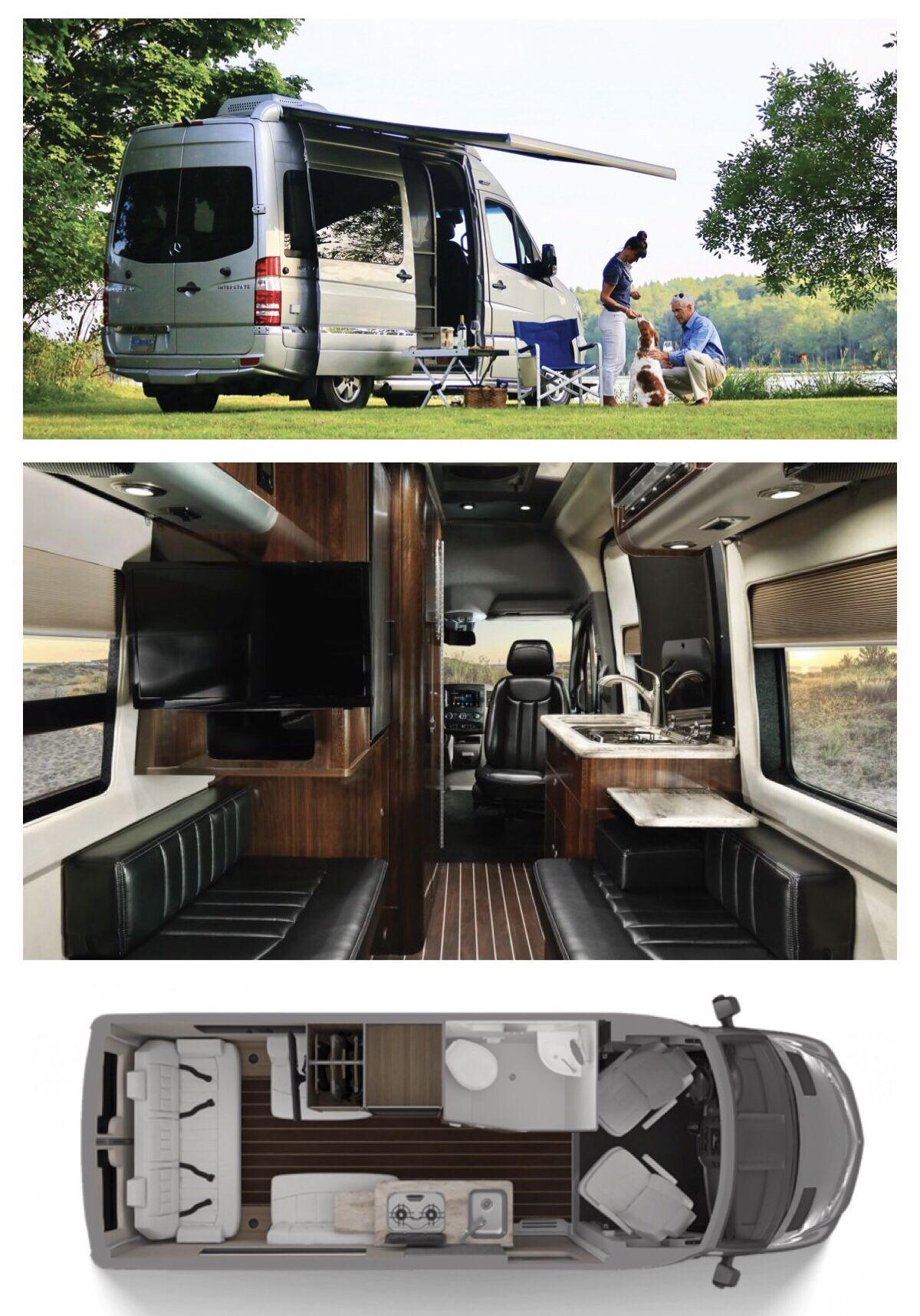 Pin By Evelynda Dahling On Future Luxury Tours Class B Camper