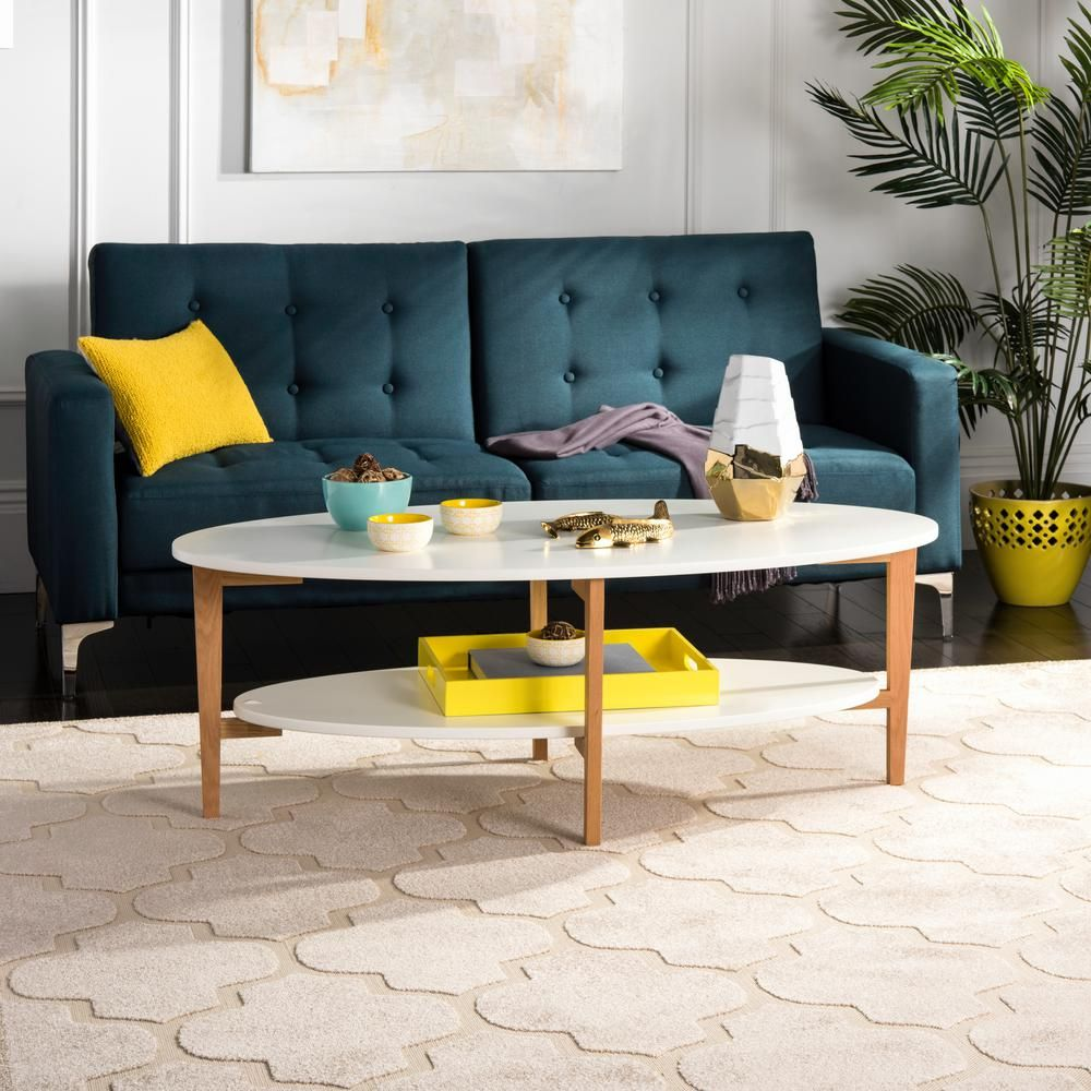40+ White oval coffee table with storage ideas
