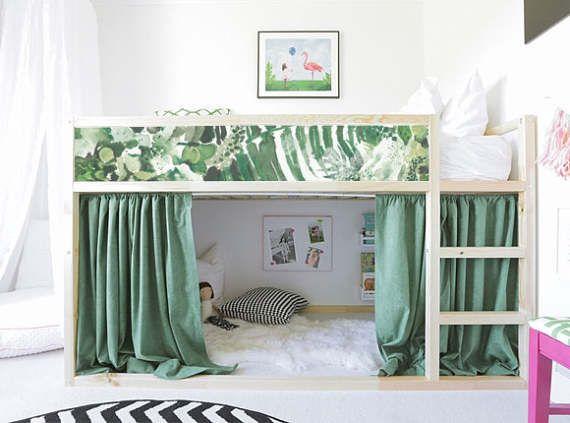 Kura lit ikea tropical laisse bed sticker set pack de 5 - Ikea stickers chambre ...