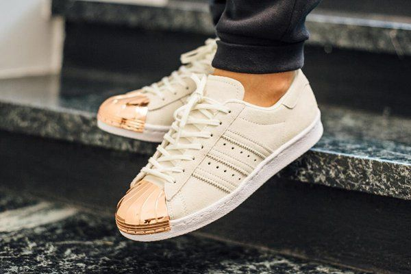 adidas superstar blanche bout metal