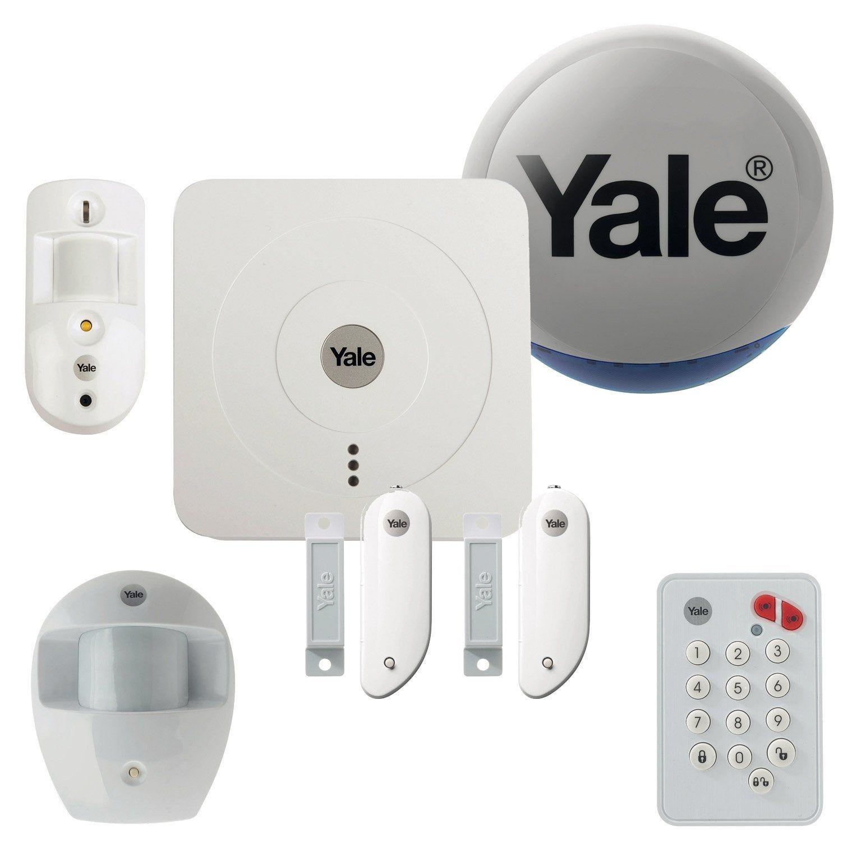 Alarme Maison Sans Fil Yale Connectee Pack Dissuasion Sr 3200i Alarme Maison Sans Fil Detecteur De Mouvement Et Systeme Alarme