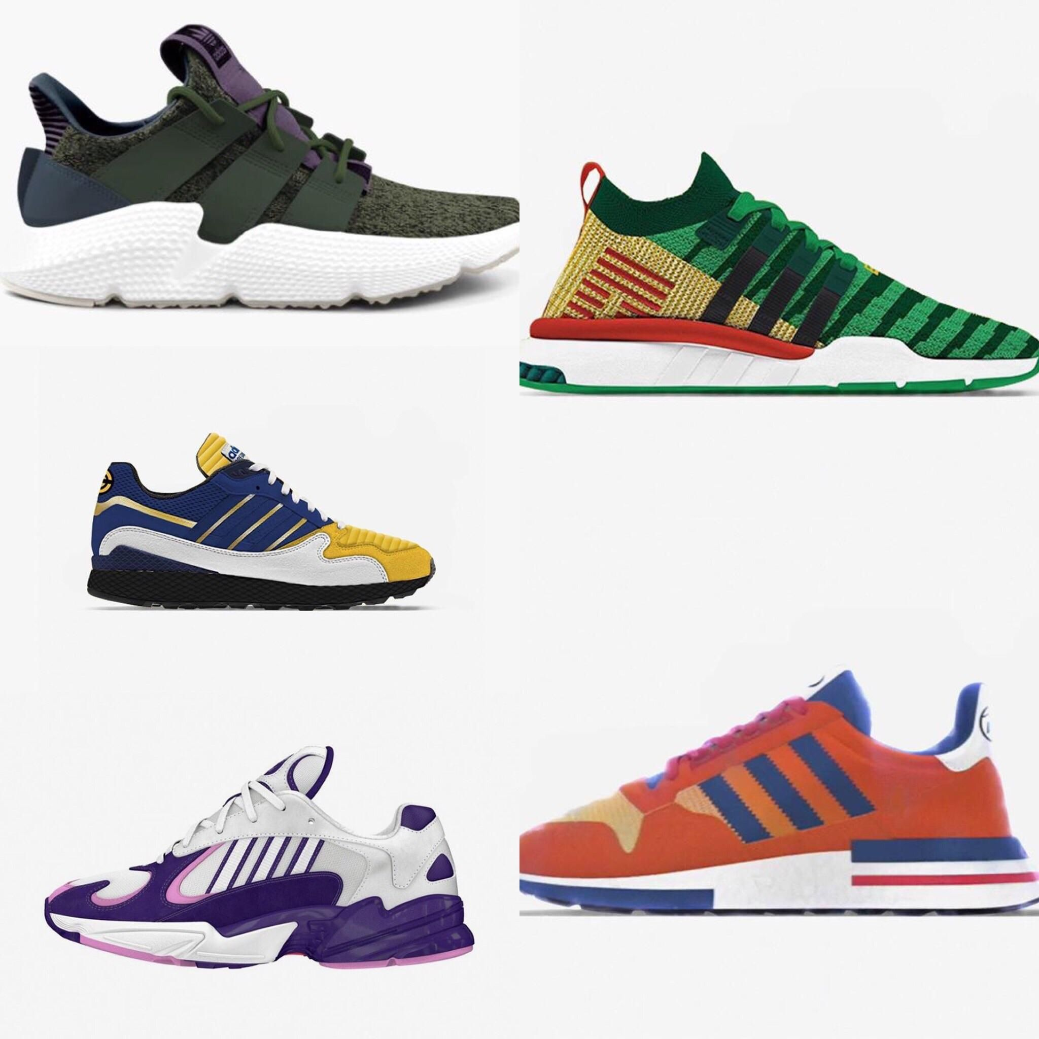 Which adidas x Dragon Ball Z silhouette will you be copping? http://