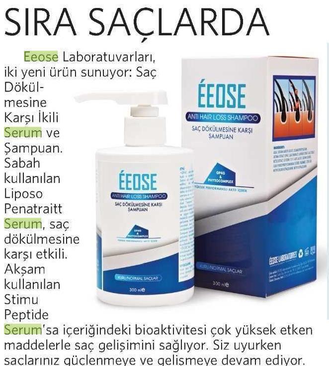 Milliyet Gazetesi Simdi Sira Saclarda Sampuan Serum Kirpik