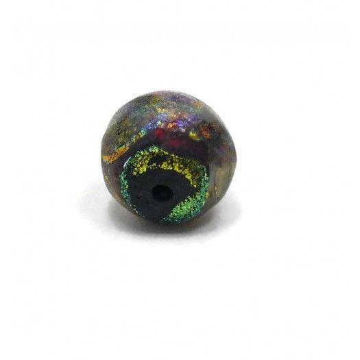 Barbara Metzger Basha Beads Pasha Large Pendant 18mm x 19mm #BarbaraMetzger #Lampwork