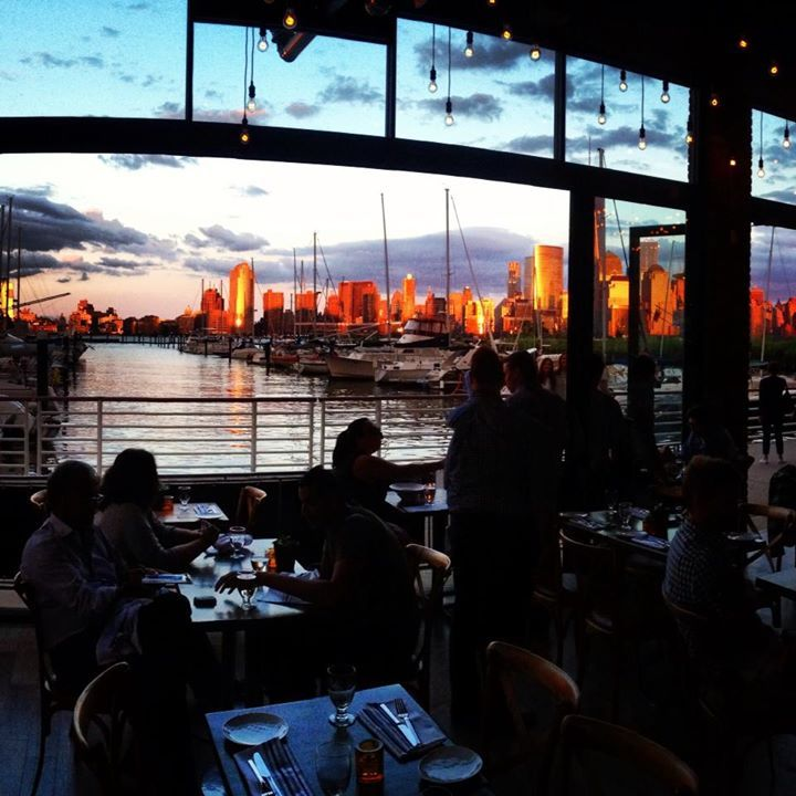 Restaurant On Jersey City Waterfront