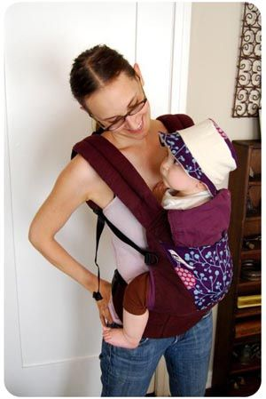 Dyed Ergo Baby Carrier Instructions For You To Re Vamp And Customize