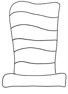 template for cat in the hat bow tie google search dr seuss