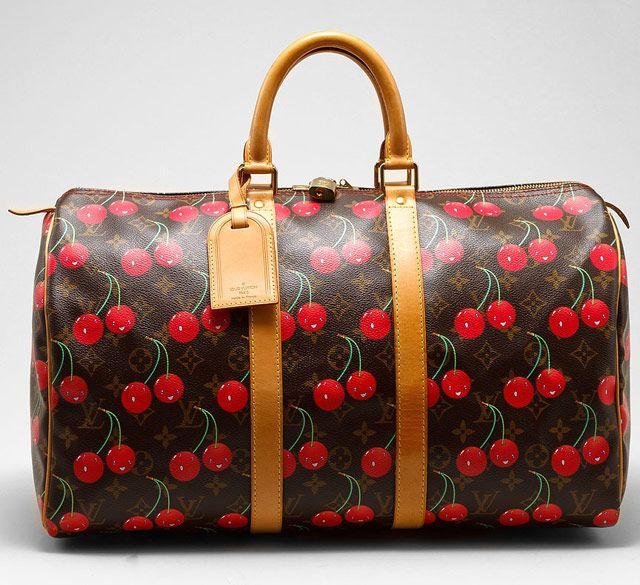 Louis Vuitton Cerises Keepall 45