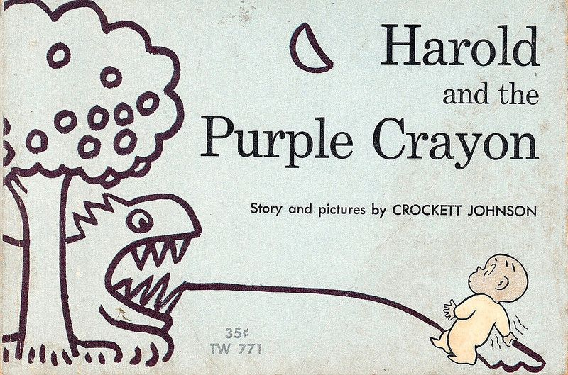Harold and the purple crayon scholastic books 1966