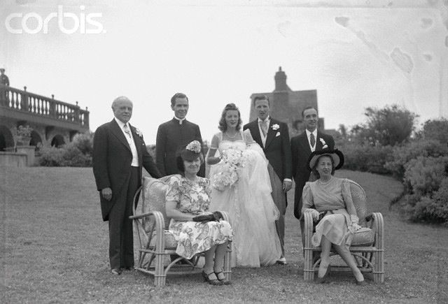 Wedding Of Anne Mcdonnel And Henry Ford Ii