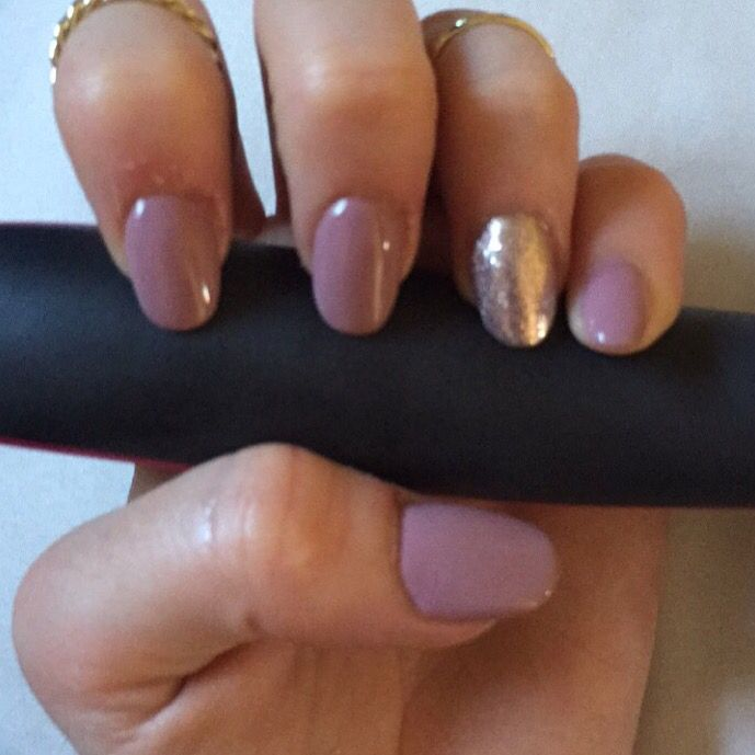 Acrylic Nails. Natural round shape. | Nails | Pinterest