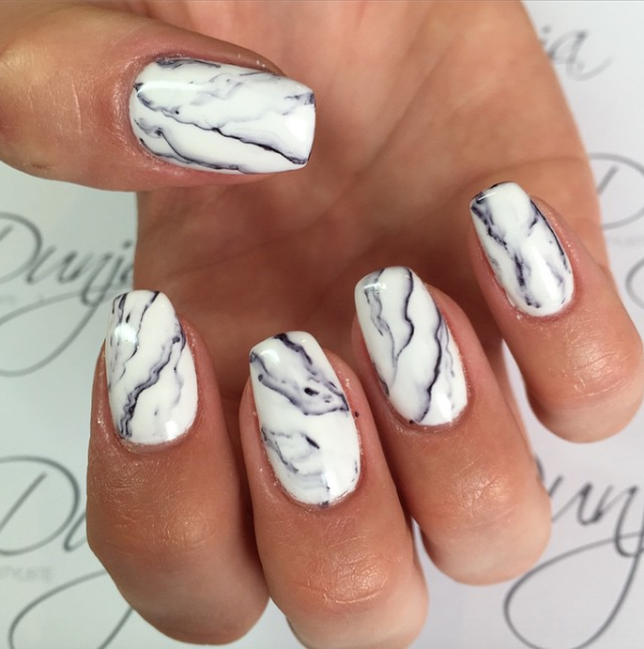 Granite Nails   Granite, Manicure and Makeup