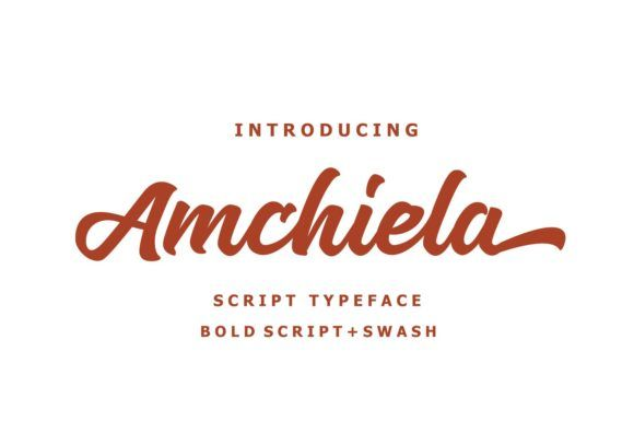 Download Amchiela (Font) by Authentic Studio · Creative Fabrica in ...