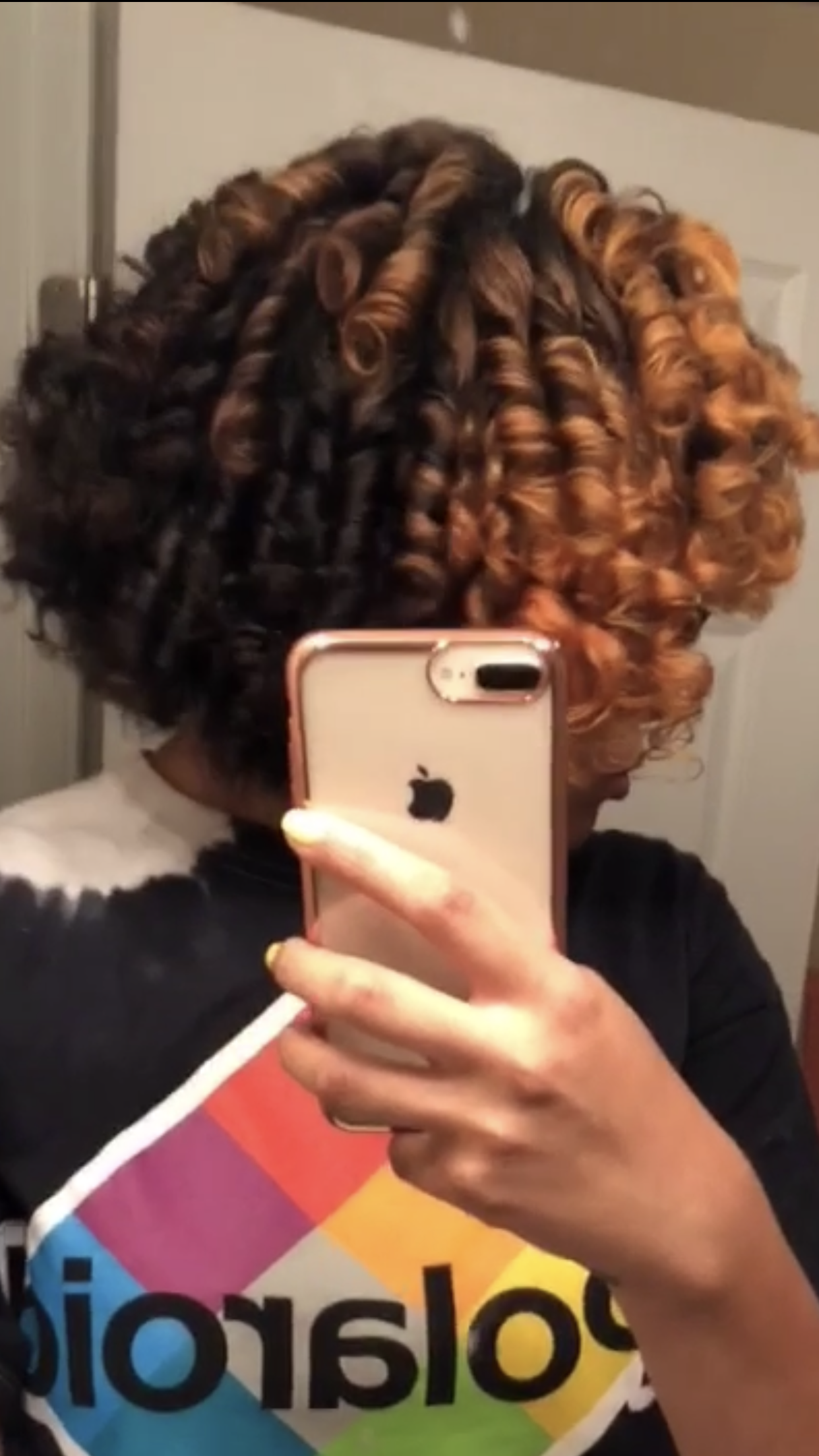 Roller set on natural hair natural hairstyles pinterest roller