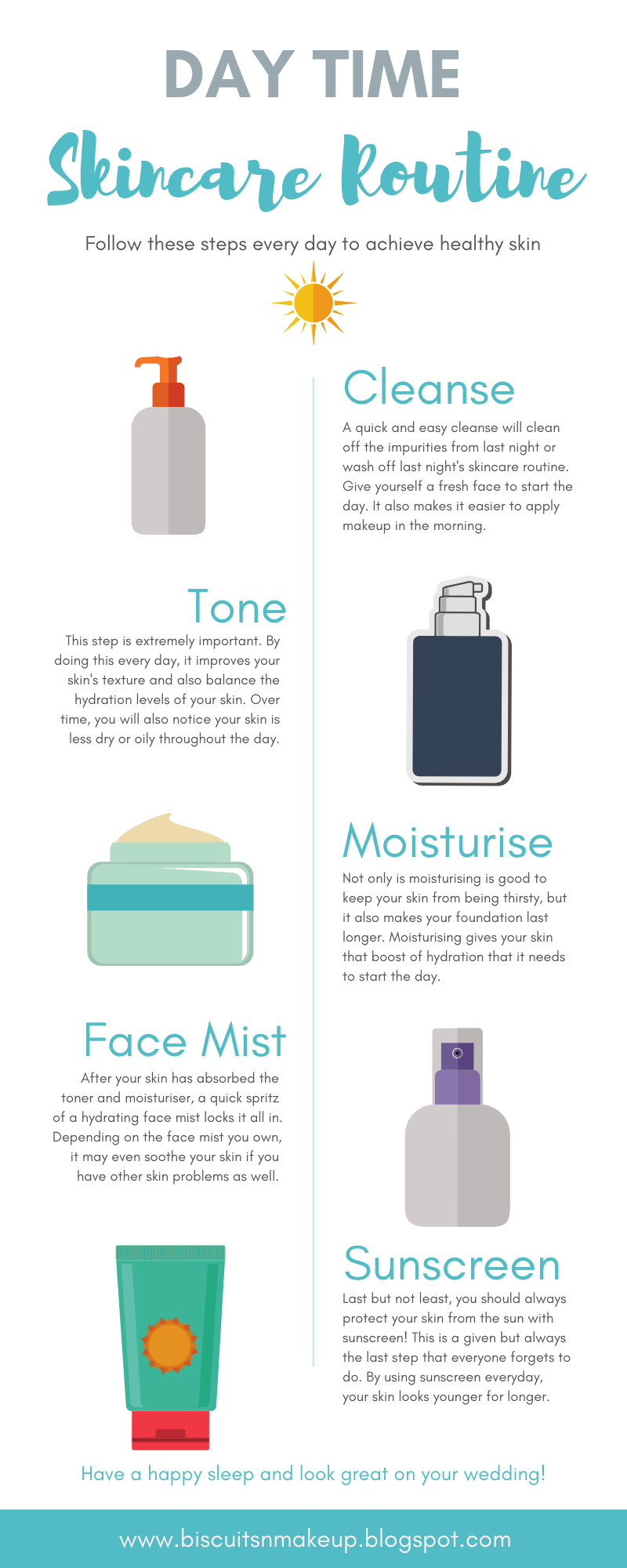 5 Easy Steps For Day Time Skincare Routine To Achieve Healthy Skin Night Skin Care Routine Skin Care Skin Care Routine
