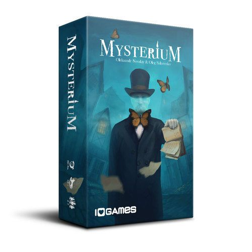 Mysterium Expansion Hidden Signs Igames Edition Game Board